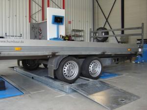 Niet alleen caravans maar ook het uitlijnen, repareren en service van trailers behoort tot onze mogelijkheden